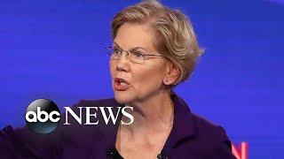 Democratic debate in Ohio: Dems spar over Biden's son, wealth tax, health care | Nightline