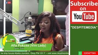 EGYASO GYASO WITH AFIA POKUAA  ON OKAY 1017 FM 11122019