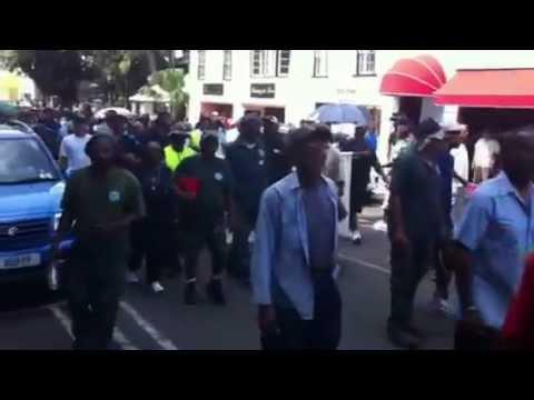 BIU Members Outside KFC In June 2012