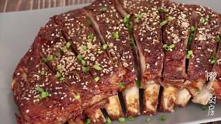 羊排怎么做好吃?教你做孜然烤羊排,过年给饭桌上添一道年菜.