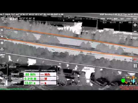 Seattle Police Department, FOIA raw footage, WSP FLIR Video