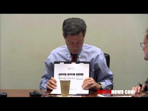 Harris Newspaper Editors meet with Governor Brownback