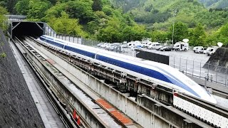Japan's Maglev Train breaks World Record with 600km/h Speed