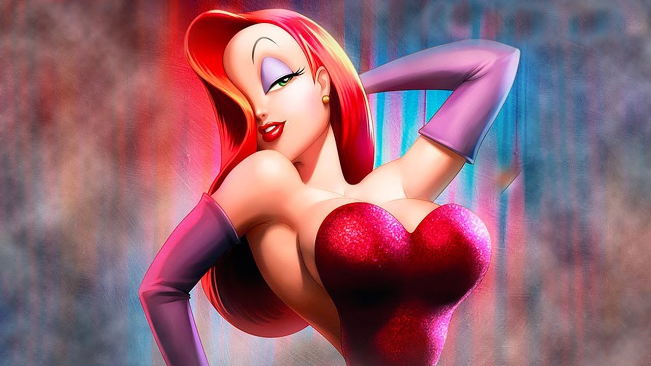 Cartoon characters with big tits