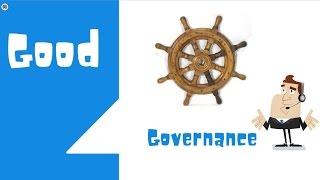 Good Governance public administration