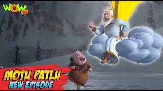 Motu Patlu New Episodes 2021  Angel Of Jungfraujoch  Funny Stories  Wow Kidz