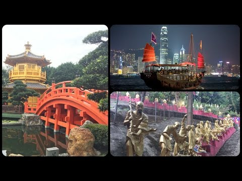 Hong Kong Vlog / Day 4 / Island Hopping,Buddhas & Bright Lights
