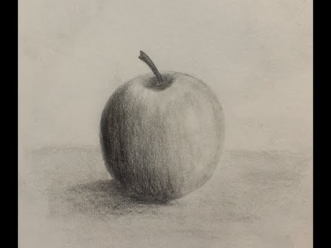 How to draw an #apple/#pencilsketch