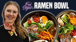 Food Stylist vs. Ramen Bowl | How to Style DIY Ramen for Photo | Well Done