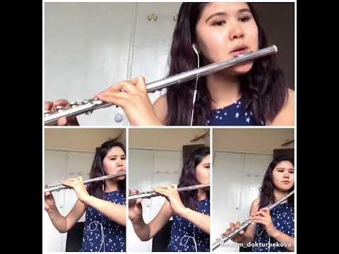 В.А.Моцарт Рэквием ре минор Лакримоза (Lacrimosa) на флейте