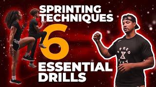 Sprinting Techniques: 6 Essential Drills