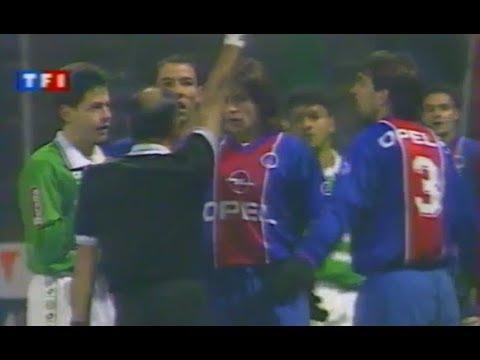 ASSE 1-1 PSG - 22e journée de D1 1995-1996