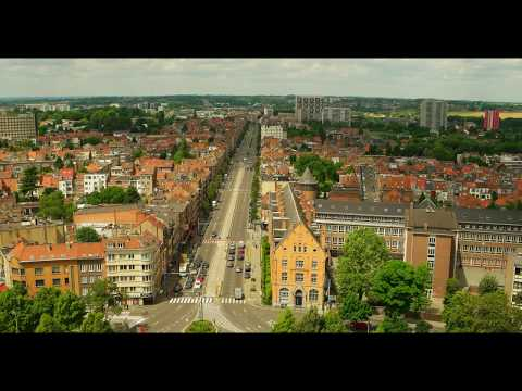 Trip to Belgium  Brussels view 4K HEVC  NX500