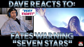 Dave's Reaction: Fates Warning — Seven Stars