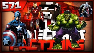 Minecraft FACTIONS Server Lets Play - THE AVENGERS ABUSE SCANDAL - Ep. 571 ( Minecraft Faction )