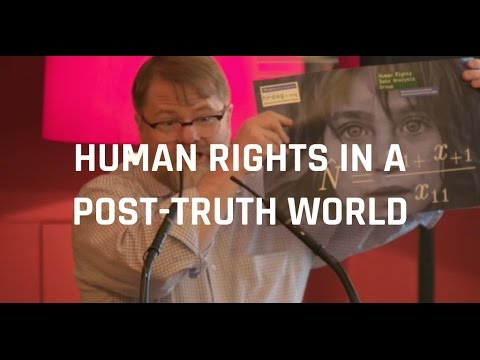 Human Rights in the post-truth age: a statistician's mission | Patrick Ball