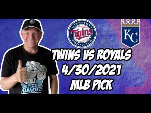 Minnesota Twins vs Kansas City Royals 4/30/21 MLB Pick and Prediction MLB Tips Betting Pick