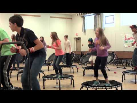 Moscow Middle School Students Love JumpSport Fitness