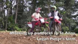 720p   Tractors Boys Bikes  Julian and Facundo Onyszczuk  In Te Anau NZ