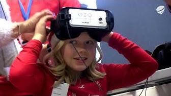 Telia ja Nokia veivät lapset virtuaalivierailulle Joulupukin luo 5G-verkossa