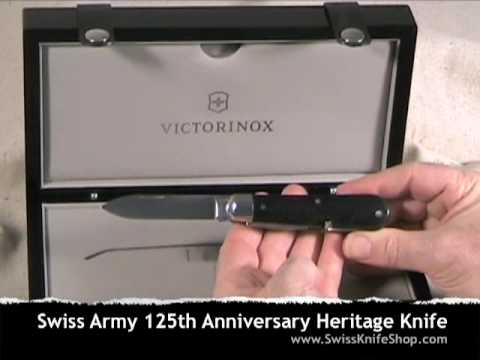 Victorinox Swiss Army 125th Anniversary Heritage Knife