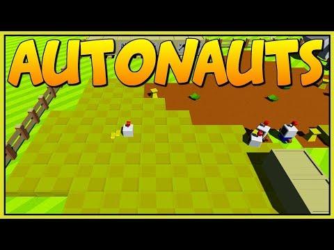 MASSIVE CROP FIELDS GROW INFINITE FOOD - Autonauts Alpha - Let's Play Autonauts Gameplay