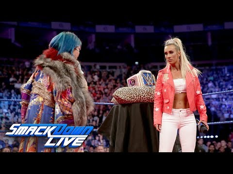 Asuka crashes Carmella\'s Royal Mellabration: SmackDown LIVE, May 15, 2018