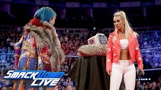 Asuka crashes Carmella's Royal Mellabration: SmackDown LIVE, May 15, 2018