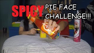 Super Spicy Pie Face Challenge Indonesia