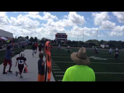 Garrison touchdown