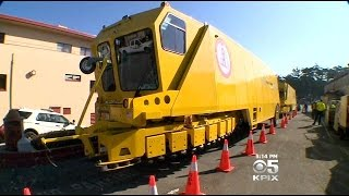 "Golden Gate Bridge ""Zipper Trucks"" Ready For New Moveable Median"