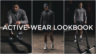 ACTIVE-WEAR LOOKBOOK | 3 Outfit Ideas | Men