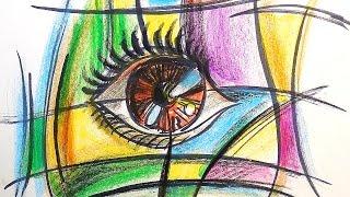 Как нарисовать Глаз | Урок рисования для детей | Развивающее видео(Третий развивающий урок рисования, где я рисую глаз. Предлагаю вам посмотреть серию рисунков глаз. Глаз..., 2016-09-24T15:30:00.000Z)