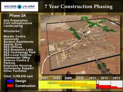 Masdar - Construction Sequencing