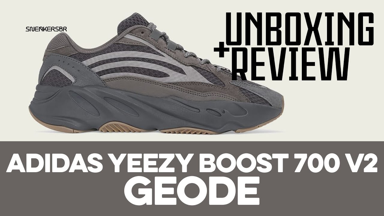 34ba96cee21c8 UNBOXING+REVIEW - adidas Yeezy Boost 700 V2  Geode  - YouTube