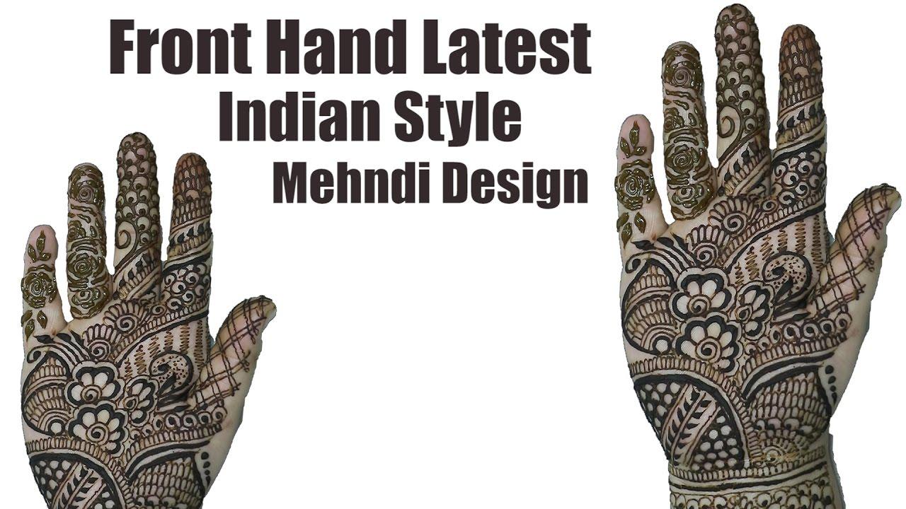 How to Do Mehndi At Home | Indian Mehndi Design | Mehndi Tutorial ...