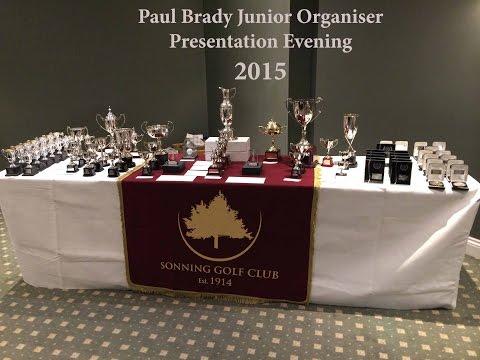 Junior Presentation Part 2 The Speeches Sonning Golf Club 2015 By Paul Brady