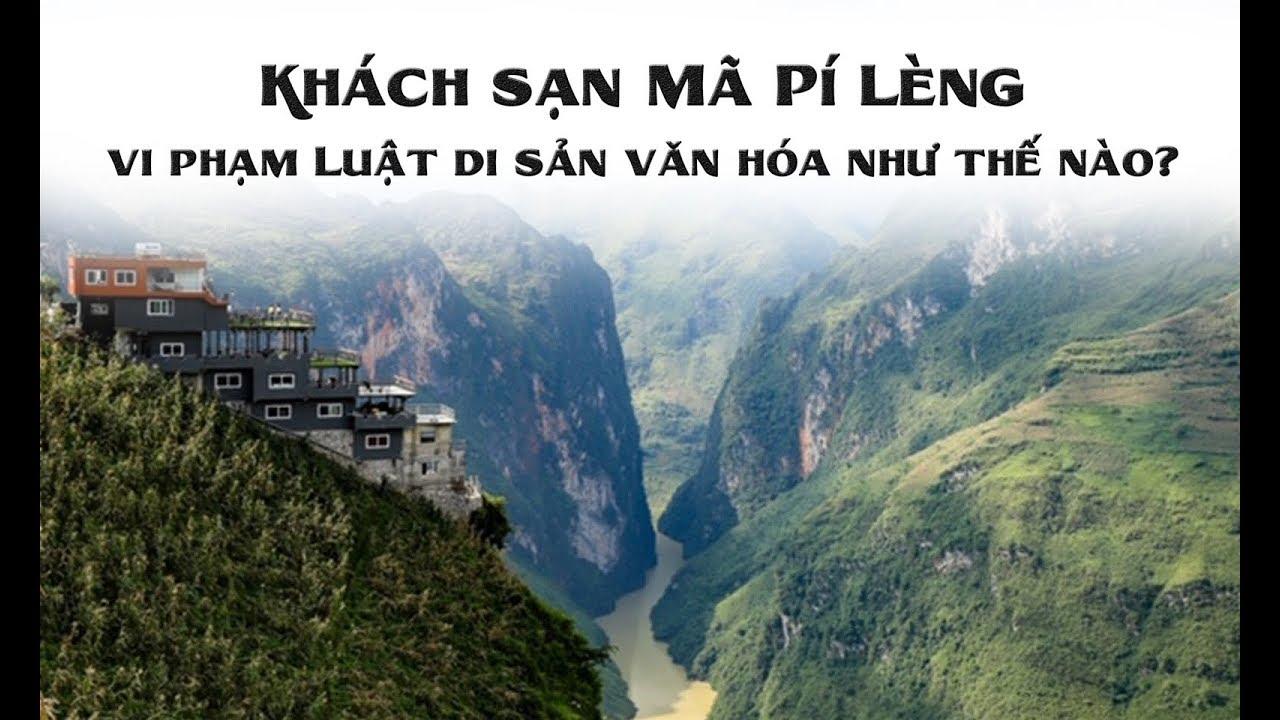 Nhà nghỉ Panorama do bà Vũ Ngọc Ánh xây trái phép trên đèo Mã Pì Lèng