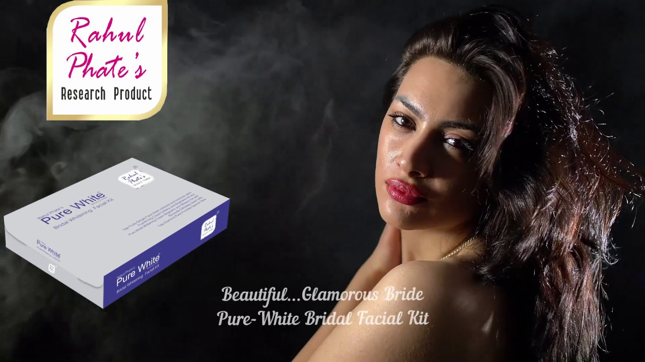 Rahul Phate Pure White Bridal Whitening Facial Kit  Perfect Facial kit For  Brides