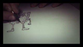Как нарисовать губку Боба (1 видео)(как нарисовать., 2015-12-09T18:03:03.000Z)