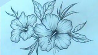 رسم سهل تعليم الرسم والتلوين Youtube Flower Tattoo Flowers Tattoos