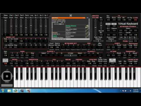 KORG I ONE # CONTOH SONG MIDI DI BUAT STYLE #