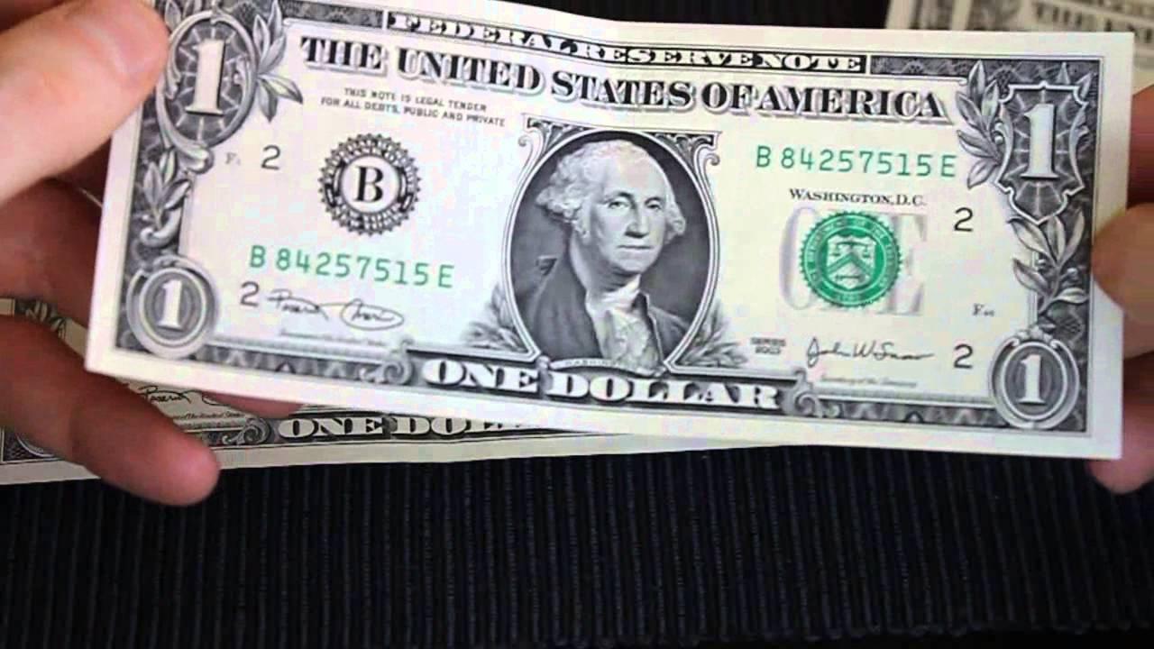 One Dollar Bills Series 2003 Near Cu
