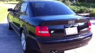 2000 Audi S4 OFFICIAL TEST DRIVE REVIEW - ENGINE, EXHAUST, SPECS, TEST DRIVE