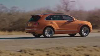 Le SUV Bentley Bentayga Speed embarque un moteur W12 6.0 litres de 635 ch
