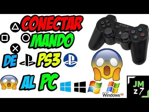 Como Conectar MANDO DE PS3 Al PC / Windows 10,8,7,xp