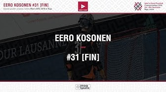 ThinkGoalie.ANALYSIS: Eero Kosonen [FIN]