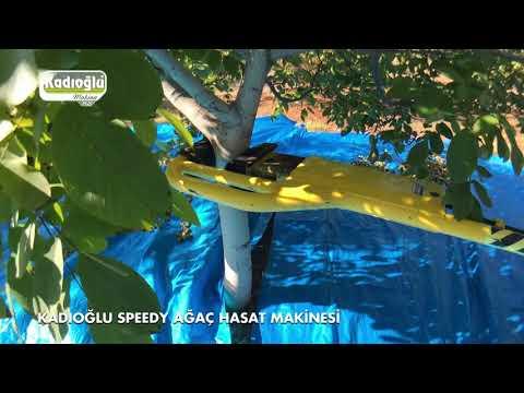 Genç Ağaçlar Için Silkeleme Makinesi - Ceviz, Badem, Kayısı, Vişne, Elma - Kadıoğlu Speedy