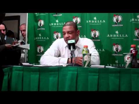 Doc Rivers on a huge win for the Celtics over Knicks.flv
