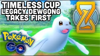 Legacy Dewgong takes 1st in Timeless cup tournament | Pokemon GO